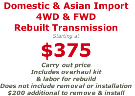 Domestic & Asian Import 
